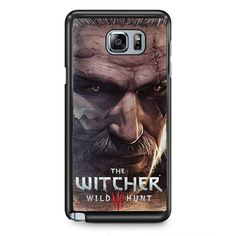 Geralt The Witcher TATUM-4645 Samsung Phonecase Cover Samsung Galaxy Note 2 Note 3 Note 4 Note 5 Note Edge