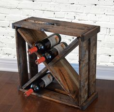 Wine Rack Cube Storage by RchristopherDesigns on Etsy, $49.99