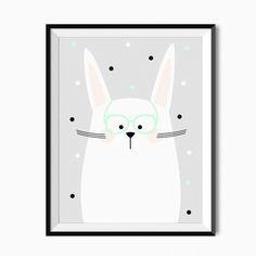 Plakat dla dzieci - Bunny