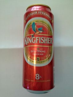 Kingfisher Beer Can India Premium Green Tall 500ml Beer A Blog
