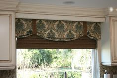 Dining room idea for windows instead of drapes