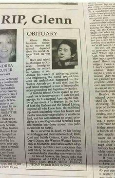 Glenn Rhee's Obituary