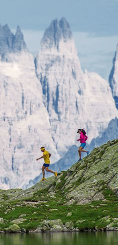 Mountain running
