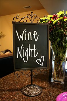 all things katie marie: Wine Night