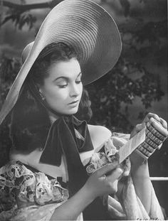 Vivien Leigh as Scarlett O'Hara in Gone With the Wind 1939