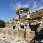 Ephesus was at its peak during the 1st and 2nd century AD. It was a major Roman city second in importance and size only to Rome.