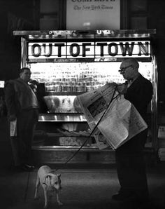 NYC. Times Square, New York, 1949 // by  Clemens Kalischer