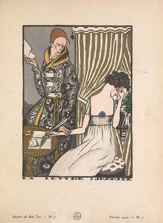 Art Deco fashion illustration from 1920 magazine Gazette du Bon Ton French Fashion, Modern Fashion, Art Deco Fashion, Fashion Design, Gents Fashion, Roaring 20s, Belle Epoque, Magazine Design, Fairy Tales