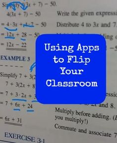 Apps for a Flipped Classroom