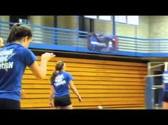 Dominican University Women's Volleyball Practice Fall 2012