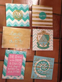 @Katie Hrubec Schmeltzer Schmeltzer Schmeltzer Schmeltzer Schmeltzer in case you need more ideas.. =)  Kappa delta big little canvas