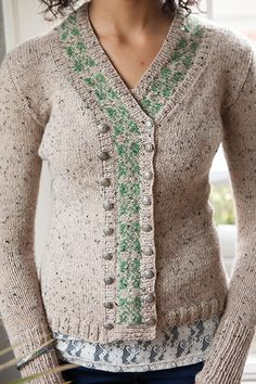 Conservatory Cardigan - Knitting Patterns and Crochet Patterns from  KnitPicks.com by Edited by Knit 6ce7d1687