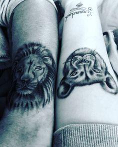... # tattoos # guyswithink # inked # inked # arm # tattoo # lion Lion Tattoo, Arm Tattoo, Couple Tattoos, Arms, Ink, Couples, Simple Lion Tattoo, Arm Tattoos, Couple Tattoos Love