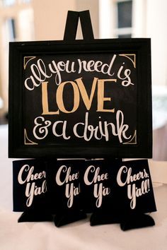 Traditional Church Ceremony + Country Club Reception in New Orleans Wedding Koozies, Wedding Signs, Diy Wedding, Wedding Events, Wedding Day, Weddings, Destination Wedding, Wedding Planning, Wedding Ceremony Decorations