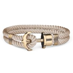 Anchor bracelet in nylon in different colors - PAUL HEWITT