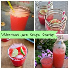 Watermelon Juice Recipe Roundup | Freshly Grown