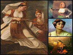 Η Νατα...Λίνα στο Νηπιαγωγείο: ΕΛΕΥΘΕΡΙΑ Ή ΘΑΝΑΤΟΣ Greek Independence, Crafts For Kids, Painting, Revolution, March, Costumes, Traditional, School, Women