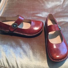 Alegria Maryjane Shoes Authentic Alegria maryjanes, light wear, Alegria Shoes Mules & Clogs