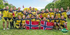 Team Rynkeby Norway 2014 i Paris Norway, Paris, Montmartre Paris, Paris France