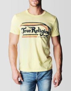 True Religion Trueton Logo Mens Tee on shopstyle.com