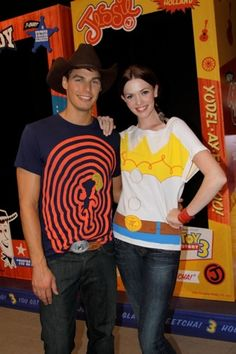 Eric Allen and Amanda Fields at the launch of the Toy Story 3 collection from @REVOLVEclothing (June 2010)