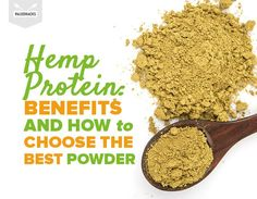 Hemp Protein: Benefits and How to Choose The Best Powder Ginger Benefits, Health Benefits, Hemp Protein Benefits, Best Powder, Natural Antibiotics, Health Problems, Metabolism, The Best, Natural Remedies