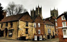 medieval britain village   Medieval Village, Lincoln, England
