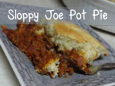 Sloppy Joe Pot Pie Recipe: Yummy, Easy Dinner Solution (Great For Potlucks and Crowds Too)