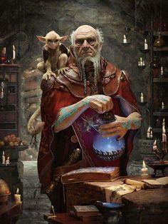 Alter Zauberer