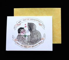 Funny Valentine's Day Cards Funny Valentine, Harry Potter Valentines Cards, Harry Potter Birthday Cards, Valentine Day Love, Valentine Day Cards, Bad Valentines, Valentine Messages, Holiday Cards, Beaux Couples