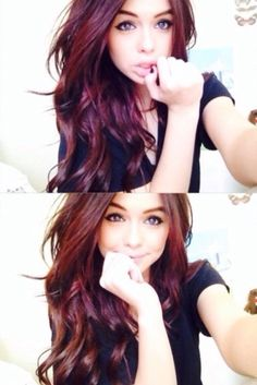 Acacia Brinley // hair color