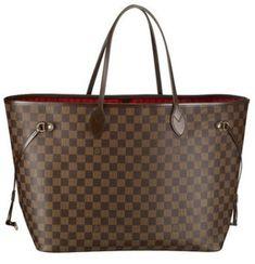 4de9f2dc57 Buy fashion Louis Vuitton Neverfull GM Damier Ebene Canvas BX at our online  shop