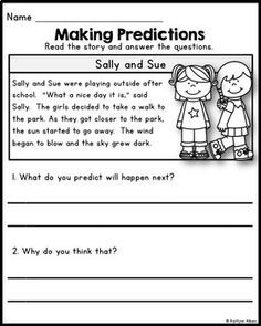 Language At 3 Predicts 3rd Grade >> 28 Best Making Predictions Images Teaching Reading Reading