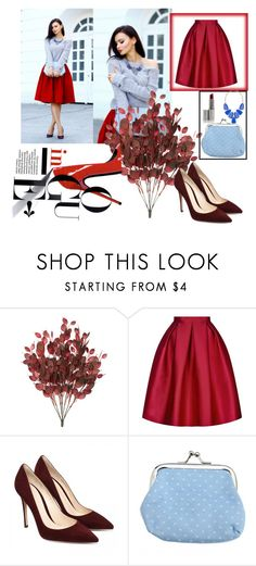 """""""Untitled #74"""" by ajla-klapic ❤ liked on Polyvore featuring Topshop and Kendra Scott"""