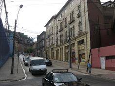Calles de Valparaíso. Carampangue --- Im.089