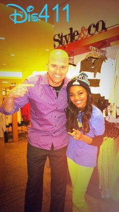 Photos: China Anne McClain With Fans And Matt Hasselbeck January 28, 2014