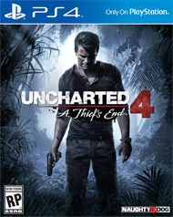 Boxshot: Uncharted 4: A Thief's End by Sony Computer Entertainment