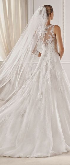 La Sposa Barcelona 2015 Bridal Collections - Belle the Magazine . The Wedding Blog For The Sophisticated Bride