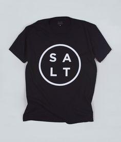 SALT Logo Tee - Black