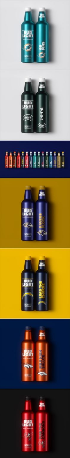 NFL Fans Rejoice — This Special Edition Beer Was Made For You — The Dieline | Packaging & Branding Design & Innovation News