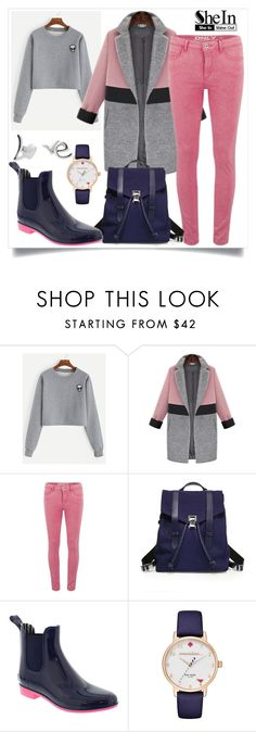 """""""SheIn"""" by ljabii ❤ liked on Polyvore featuring ONLY, Proenza Schouler, NoSoX and Kate Spade"""