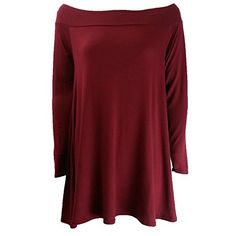 The Home of Fashion Womens Wine Bardot Off Shoulder Long Sleeve Swing Dress Size 8 The Home of Fashion http://www.amazon.co.uk/dp/B00T6I8JNC/ref=cm_sw_r_pi_dp_b260ub0Y76EW5