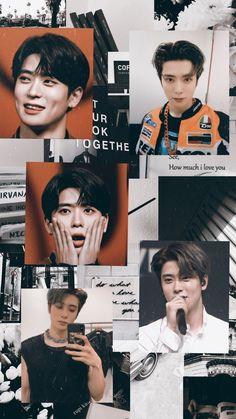 NCT🌱 Marvel Wallpaper, Galaxy Wallpaper, Kpop Aesthetic, Aesthetic Girl, Graphic Design Pattern, Funny Kpop Memes, Jung Jaehyun, Nct Taeyong, Jaehyun Nct