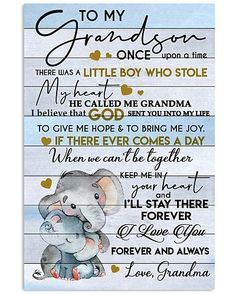 Shop for unique Grandson apparel and homegoods on CoolGrandmaStore. Find the perfect Grandson t-shirts, mugs, posters, phone cases, and more. Craft Quotes, Boy Quotes, Sign Quotes, Faith Quotes, True Quotes, Inspirational Verses, Uplifting Quotes, Grandson Quotes, Praying The Psalms