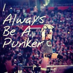 I ALWAYS BE A PUNKER