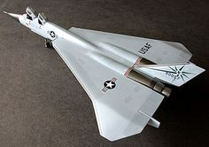 North American XF-108 Rapier; Planned to fly Mach 3, scheduled to fly in 1963, developed by North American Aviation until canceled in 1959.