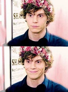 if you're upset here's Evan Peters