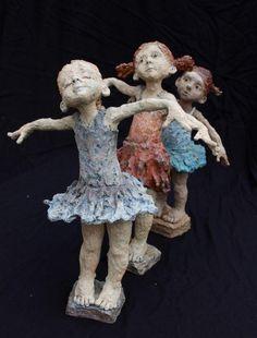 As expressivas esculturas em argila de Jurga Martin