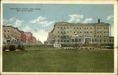 Wenonah Hotel and Park, Bay City, Mich Michigan