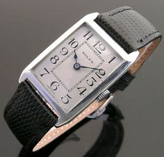 Rolex - Vintage Rolex Watches, antique men's wristwatch, London, UK